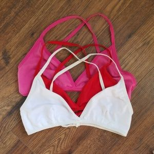 American Apparel cotton spandex triangle bra (3)